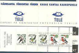 Finland 1991 Birds, Mi 1139-1141 In Booklet MH 28  MNH(**) - Finlande