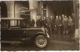 Agence Exclusive Fiat-Chrysler à (Namur?) D'après Le Cachet Du Photographe. Tirage Original D'époque  1928/29   FG1608 - Automobiles