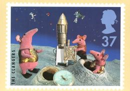 The Clangers BBC TV Series Postcard - Séries TV