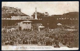 Arabie Saoudite Saudi Arabia La Mecque Mecca Fidèles Et Kaaba Hajj Hadj Pélerinage Pilgrims Ed Liban TB Très Rare V. Ex - Saudi Arabia