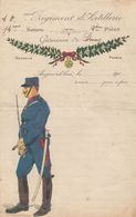 LETTRE SOLDAT 40° REGIMENT D'ARTILLERIE GARNISON DE STENAY  / 2 - Militaria