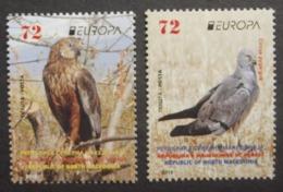 Makedonien    Europa  Cept   Nationale Vögel   2019    ** - 2019