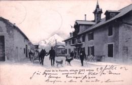 01 - Ain - GEX - Hotel De La Faucille - 1902 - Gex