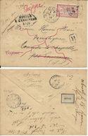 Lettre 1903 De Dieppe Pour Tourville La Chapelle En Recommandé - 1877-1920: Période Semi Moderne