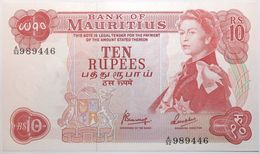 Maurice - 10 Roupies - 1967 - PICK 31c - NEUF - Mauricio