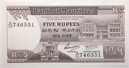 Maurice - 5 Roupies - 1985 - PICK 34 - NEUF - Mauricio