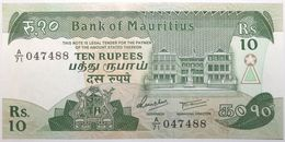Maurice - 10 Roupies - 1985 - PICK 35b - NEUF - Mauricio