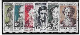 France N°1108/1113 - Oblitérés - TB - Gebruikt