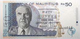 Maurice - 50 Roupies - 1998 - PICK 43 - NEUF - Mauricio