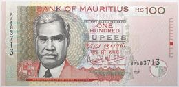 Maurice - 100 Roupies - 2001 - PICK 51b - NEUF - Mauricio