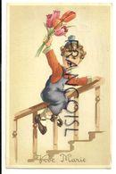 Vive Marie Petit Garçon, Tulipes, Rampe D'escalier. Coloprint Spécial 4733/4. 1958 - Autres