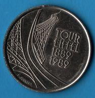 FRANCE 5 FRANCS 1889-1989 TOUR EIFFEL TOWER - Commémoratives