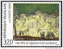 France Peinture N° 2870 ** Relations Culturelles - Fête Au Trianon En L'honneur Du Roi De Suède Gustave III - Arts