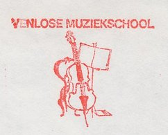 Meter Cover Netherlands 1980 Cello - Music Stand - Music School - Venlo - Musique