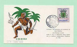 MOZAMBIQUE, Card, IX Dia Do Selo 1963, Casa Filatélica De Alfredo Dias, Lourenço Marques  (2 Scans) - Mosambik