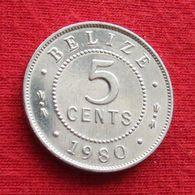 Belize 5 Cents 1980 KM# 34a  Beliz Belice - Belize