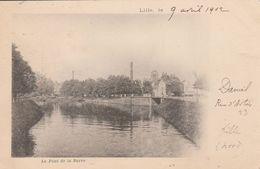 Lille - 1902 -le Pont De La Barre  - Scan Recto-verso - Lille