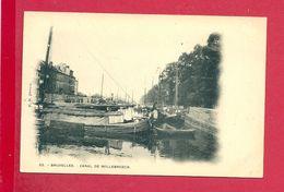 C.P. Bruxelles = Le  Canal  De  Willebroeck - Bruxelles-ville