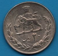IRAN 20 RIALS 1354 (1975)  KM# 1181 Mohammad Rezā Pahlavī - Iran