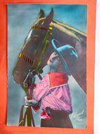 CPA. Femme.Cheval. Edition Bleuet Paris.  (Q.119) - Women