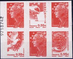 BC 1516 à 50%  Avec Numéro   NEUF **  ANNEE 2008 - 2008-13 Marianne De Beaujard