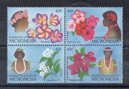 MICRONESIA - MICRONESIE - 1989 - FLEURS - FLOWERS - - Micronésie