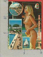 CARTOLINA VG ITALIA - SAN BARTOLOMEO AL MARE (IM) - Pin Up Seno Nudo - Nuda - Vedutine Multivue - 10 X 15 - 1986 - Imperia