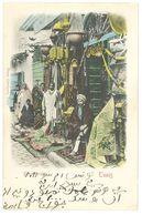 Cpa Tunisie - Tunis - Bazar Arabe - Tunisie