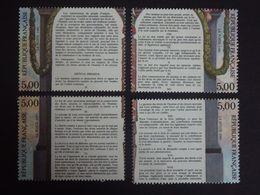 N°2596-2597-2598-2599 LUXE** - Déclaration Des Droits De L'homme Et Citoyen - 5fx4 - Gomme D'origine - Issu Du Bloc BF11 - Nuevos