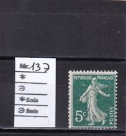 FRANCE 1907 : N° 137 NEUF** - France