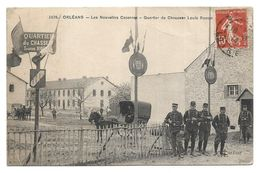 45 - ORLEANS -Militaria - Nouvelles Casernes, Quartier Du Chasseur Louis Rossat - Orleans