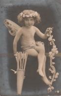 *** Ange *** L'ange Cupidon - Précurseur TTB Timbré - Angels