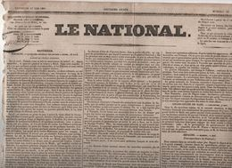 LE NATIONAL 13 05 1831 - POLOGNE - FAENZA - MADRID - SUISSE - BELGIQUE - PONT-L'EVEQUE - LACORDAIRE ECOLE - DECORATIONS - Zeitungen
