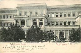 Pologne - Poland - Warszawa - I. Gimnazium Zenskie - 2 Scans - état - Pologne