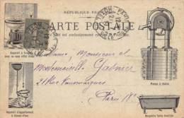 89 - YONNE - JOIGNY - 10828 - Carte Commerciale - Travaux En Bâtiments-plomberie, Zinguerie - G.BOYNARD - Joigny