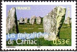 France N° 3819 ** Portraits De Régions (six) - La France à Voir, Les Mégalithes De Carnac - Nuevos