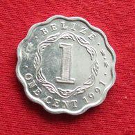 Belize 1 Cent 1991 KM# 33a *V2 Beliz Belice One Cent - Belize