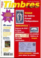 Timbres Magazine N.83,10/2007,Madagascar 1942,empire Austro-hongrois,EMA Et Propagande,Le Tchad Colonie, - Magazines