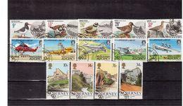 ALDERNEY: 1984/1986 LOTTO DI 14 VALORI  IN SERIE COMPLETE USATE (R68) - Alderney