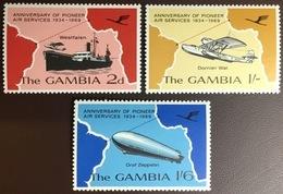 Gambia 1969 Air Services Aircraft MNH - Gambia (1965-...)