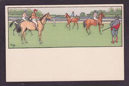 CPA Elliot Harry Course Cheval Horse Non Circulé - Elliot