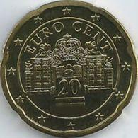 Oostenrijk 2020   20 Cent      UNC Uit De Rol  UNC Du Rouleaux  !! - Autriche