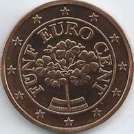Oostenrijk 2020   5 Cent      UNC Uit De Rol  UNC Du Rouleaux  !! - Autriche