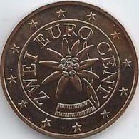 Oostenrijk 2020   2 Cent      UNC Uit De Rol  UNC Du Rouleaux  !! - Autriche