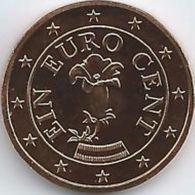 Oostenrijk 2020   1 Cent      UNC Uit De Rol  UNC Du Rouleaux  !! - Autriche