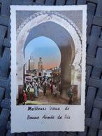 MIGNONNETTE MEILLEURS VOEUX DE BONNE ANNEE DE FES - Fez (Fès)