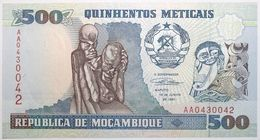 Mozambique - 500 Meticais - 1991 - PICK 134 - NEUF - Mozambique