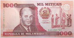 Mozambique - 1000 Meticais - 1991 - PICK 135 - NEUF - Mozambique