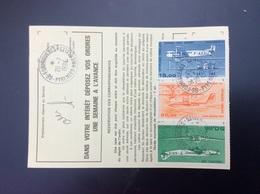 Ordre De Réexpédition Temporaire Tarif 85,00 F Du 11/1/1990 Formigueres 66 Du 26/7/90 - Poste Aérienne