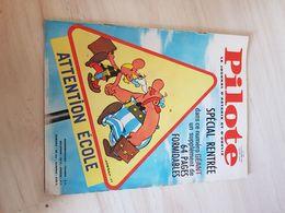Pilote N° 309 Avec Pilotorama Et Couverture Asterix - Pilote